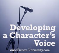 Fiction University: How to Find Your Character's Voice