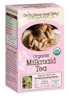 Earth Mama Angel Baby Organic Milkmaid Tea    http://amzn.to/2iHag1p