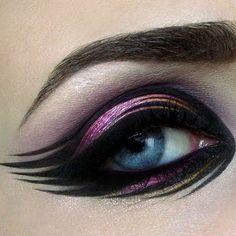 #Maquillaje de ojos creativos. Curso Eye-Pro para Maquillistas Profesionales- 13 de Junio. colombemakeupschool@gmail.com