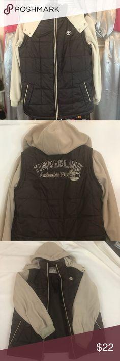 14309317c8 Boy's Timberland Jacket Boy's Timberland Vest Jacket with Removable hood. Timberland  Jackets & Coats Boys