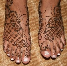 Henna our boots will cover it up but so pretty