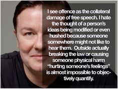 Are you in a rush to be offended?