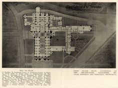 Floor plan of the Cathedral of the Incarnation, Baltimore, Maryland   ARCHI/MAPS : Photo
