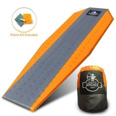Add comfort to your cot or sleeping bag, try an archer self-inflating air-pad and sleep on a layer of air while camping. With the lightweight series, the pad will inflate and deflate quickly with the jet stream foam and roll up compactly to fit into the stuff sack. http://amzn.to/2v1xNg9 #outdoors #activities #camping
