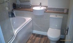 #VPShareYourStyle Wooden floor and round bathroom furniture makes Andrew from Bury st Edmunds' bathroom look brilliant