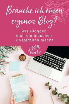 """In meinem Blog Beitrag verrate ich dir, wie bloggen nachhaltig für deinen Business Erfolg funktioniert. Lerne warum du einen Blog starten solltest, wie Blog Beiträge schreiben deine Sichtbarkeit und Reichweite erhöhen kann und die Vorteile von Content Marketing. Wenn du mehr darüber erfahren möchtest und in die Tiefe gehen willst, dann trag dich in die Warteliste für meinen neuen To-Go-Kurs """"Show UP!"""" ein. #bloggenfüranfänger #contentmarketing #blogtipps #judithworks Website Layout, Website Design, Judith, E-mail Marketing, To Go, Finding Someone Quotes, Learning To Write, Web Layout, Website Designs"""