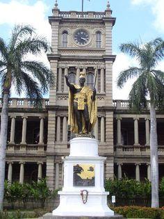 King Kamehameha - Honolulu,  Hawaii