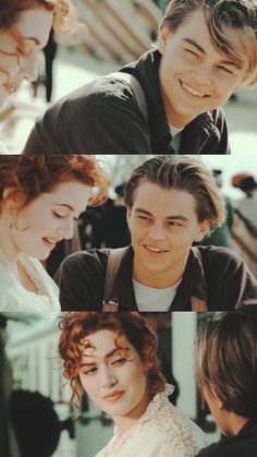 Titanic Leonardo Dicaprio, Young Leonardo Dicaprio, Movie Couples, Cute Couples, Iconic Movies, Good Movies, Leonardo Dicapro, Leo And Kate, Romantic Movies