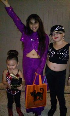 Selena Q Costume! My daughter Thalia costume last year ! 2016