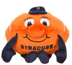 Syracuse Orange Orbiez Plush Football Toy - I used to have one of these when I was a kid!