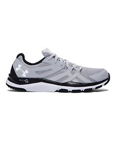 Under Armour Mens UA Strive 6 Training Shoes 12 OVERCAST GRAY * Check out  the image