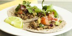 Jalapeño Lime Tacos - use lean meat. Skip avocado.