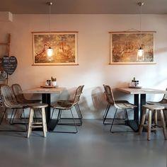 Vlieland - Leut Cafe Restaurant, Conference Room, Dining Table, Instagram Posts, Furniture, Home Decor, Decoration Home, Room Decor, Dinner Table
