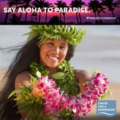 #CruiseLikeaNorwegian and get your lei on in Hawaii. Visit us at: http://www.ncl.com/cruise-destination/hawaii/overview.