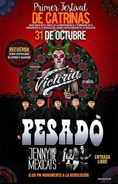"""La cerveza VICTORIA realizó por primera vez un festival donde se hace un homenaje a uno de los personajes más emblemáticos del Día de Muertos que celebramos en México: """"La Catrina""""."""