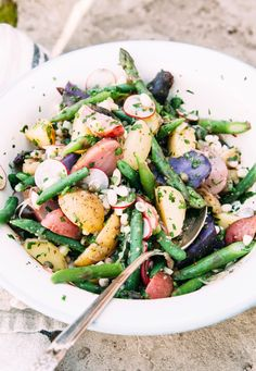 Our Favourite Picnic Salad - The First Mess