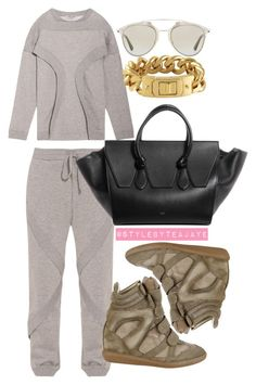 """Untitled #2039"" by stylebyteajaye ❤ liked on Polyvore featuring Opening Ceremony, Christian Dior, Isabel Marant and CC SKYE"