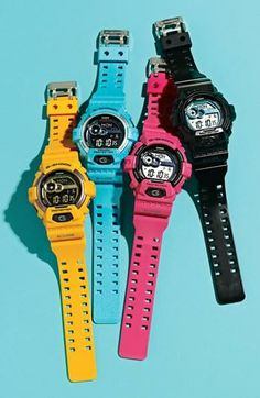 Sport a G-Shock while your train.