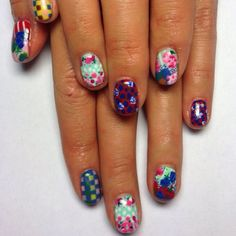 marc jacobs resort 2013 inspired nails, by http://instagram.com/amongstbrogues/