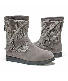 Look at this #zulilyfind! Medium Gray Gina Boot - Women by MUK LUKS #zulilyfinds