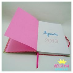 "Agenda ""Poá"" 2013 - Bella Mia - Ateliê | via Facebook"