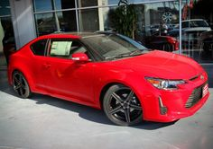 Not your everyday Scion! Red Mccombs, Scion, Toyota, Bmw, Vehicles, Car, Vehicle, Tools