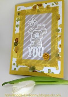 Handmade by Fanny: All you need is love. All You Need Is Love, Thinking Of You, Blog, Frame, Feathers, Butterflies, Up, Bears, Flowers