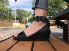 You'll fall in love with the arch support on the Ka Wedge by Wolky Women's Sandals, Smooth Leather, Wedge Heels, Arch, Wedges, Ankle, Chic, Fall, Shoes