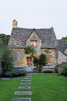Cottages E Suas Fachadas Adoráveis!por Depósito Santa Mariah