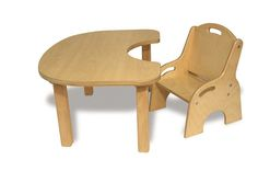 Toddler Wooden Table and Chair Set - SensoryEdge