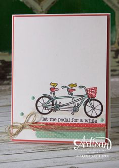 Pedal Pusher- Stampin' Up! - StampinByTheSea.com