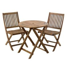 Hartman Aspen bistro set from Sainsbury's | Garden | PHOTO GALLERY | Style at Home | Housetohome