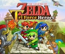 TLOZ:Tri Force Heroes-3DS
