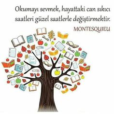 Okumayı sevmek... I Love Books, My Books, Kids Education, Book Lovers, Karma, Best Quotes, Symbols, Letters, Reading