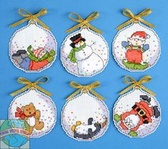 Design Works - Bubbles Ornaments (6) - Cross Stitch World