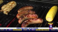 The Fourth of July is the most popular time of year to grill.  Lowe's Foods shows us some great recipes and tips to make your July Fourth even more festive.