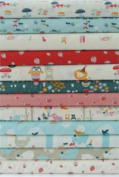 Emily Isabella for Birch Organic Fabrics, Everyday Party, Entire Collection in FAT QUARTERS 12 Total