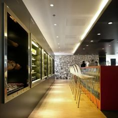 Beautiful work done by Interior Design of CitizenM 2nd Hotel in Amsterdam