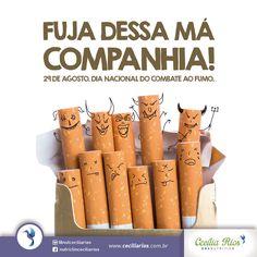 Card Dia Mundial do Combate ao Fumo.