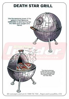 Rejected Star Wars promotional merchandise Concepts.