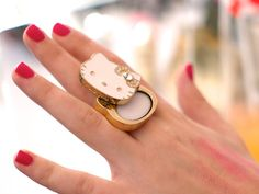 Hello Kitty Solid Perfume Ring from Sephora