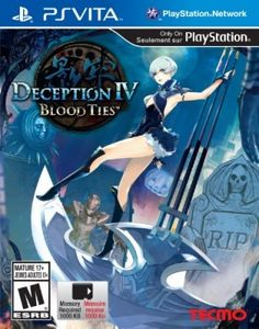 Deception IV: Blood Ties - PlayStation Vita #Jogos #PlayStation Vita