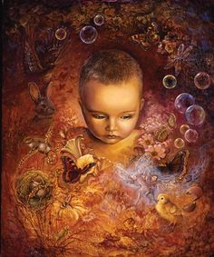 Through The Eyes Of A Child by Josephine Wall