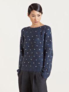 Dries Van Noten Women's Tairana Alpaca Sweater