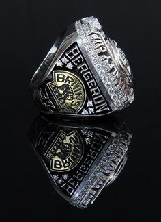 This will be the year they add another!  Patrice Bergeron, Boston Bruins, Stanley Cup ring