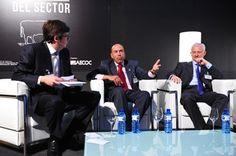 Gran momento con Carlos Buxadé y Aurelio Sebastiá en el XIII Congreso AECOC de Productos Cárnicos y Elaborados.