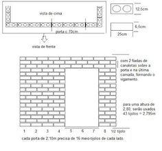 Construindo sua casa com tijolo ecológico!: Cálculo da quantidade de tijolos
