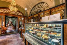 One of the biggest cafés in Hungary, the Gerbaud Café serves delicious coffee, rich chocolate, and delectable treats in lavish rooms of marble and dark-grain wood.