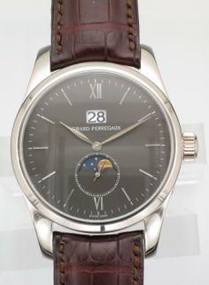 White Gold Girard-Perregaux Classic Elegance Large Date - Attenborough Pawnbrokers & Jewellers