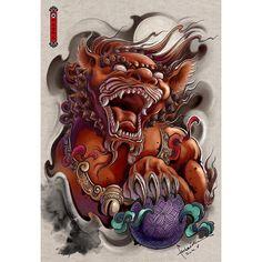 Bekijk deze Instagram-foto van @hailin_fu_tattoo • 78 vind-ik-leuks